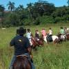 Central Cuba on horseback