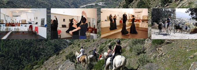 Equitation et flamenco